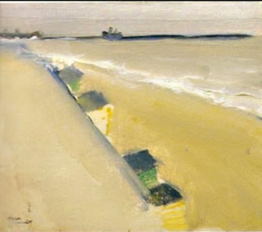 Beach /Plage, 1954 -Nicolas de Stael (1914-1955)