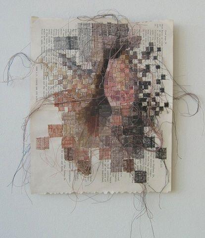 Ehren Elizabeth Reed | books, paper, scissors