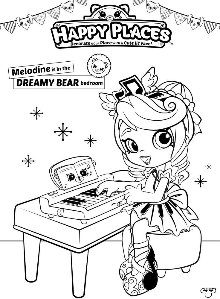 Shopkins Shoppie Dolls Coloring Pages Sara Sushi