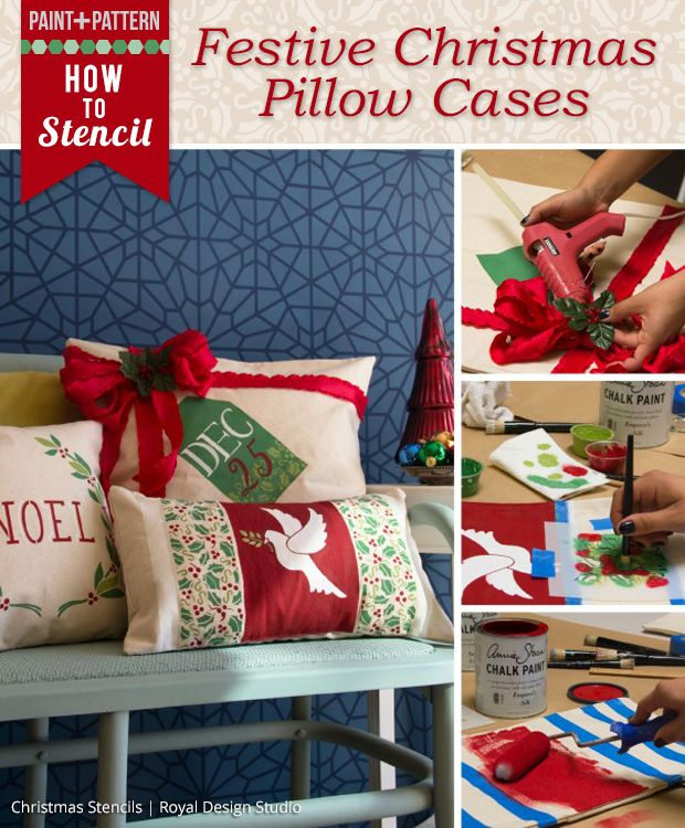 1000+ Images About DIY Christmas Decor Stencil Ideas On