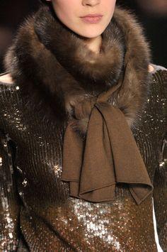 Gorgeous fur & sequins -