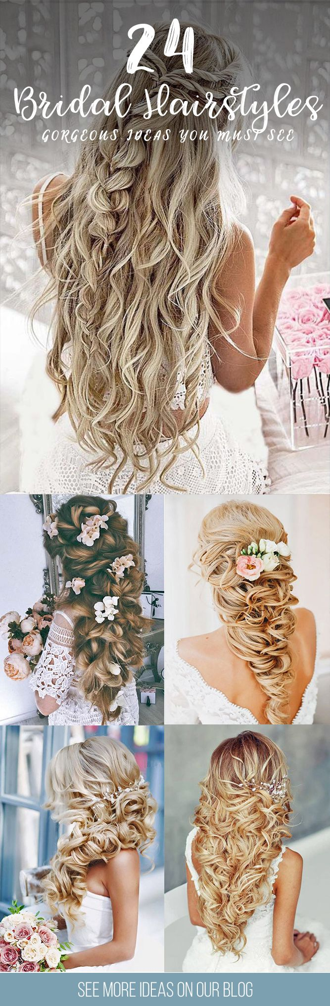 24 Gorgeous Bridal Hairstyles ❤ There are many beautiful bridal hairstyles to ...
