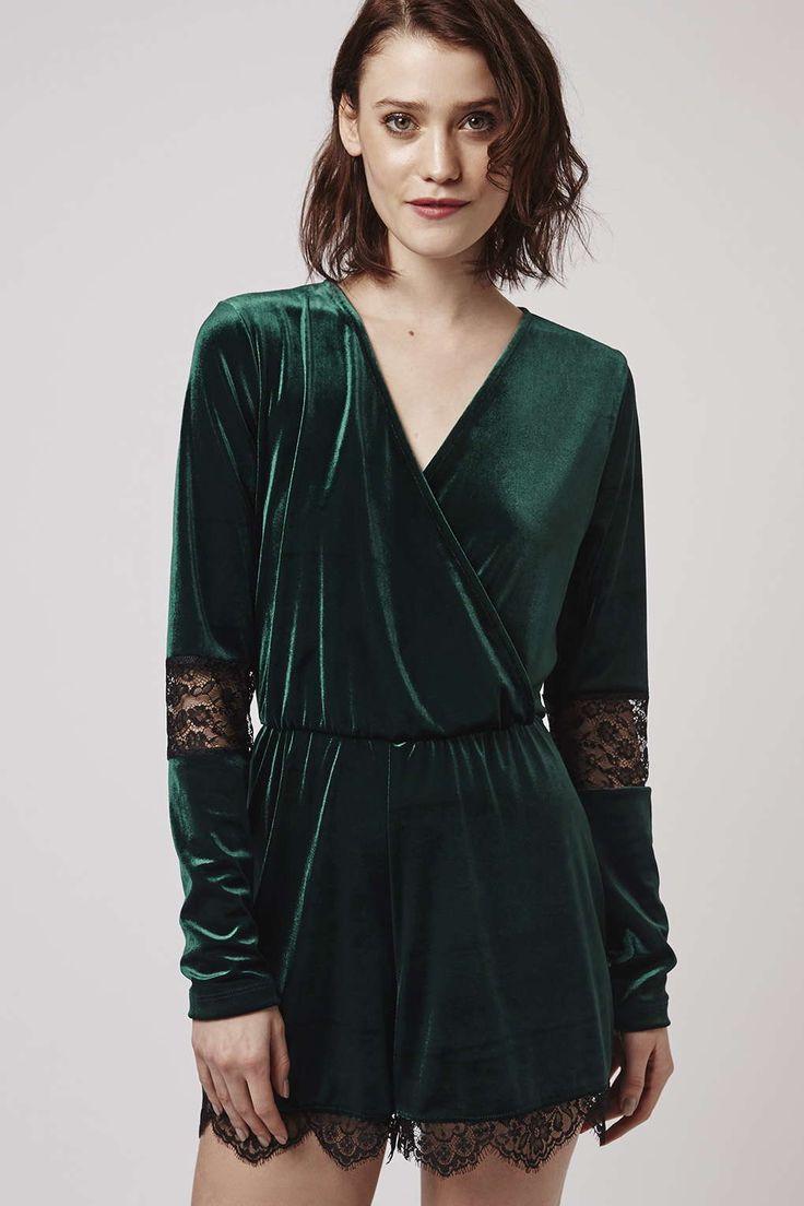 Photo 3 of Velvet Lace Playsuit