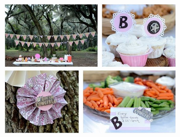First birthday cowgirl style