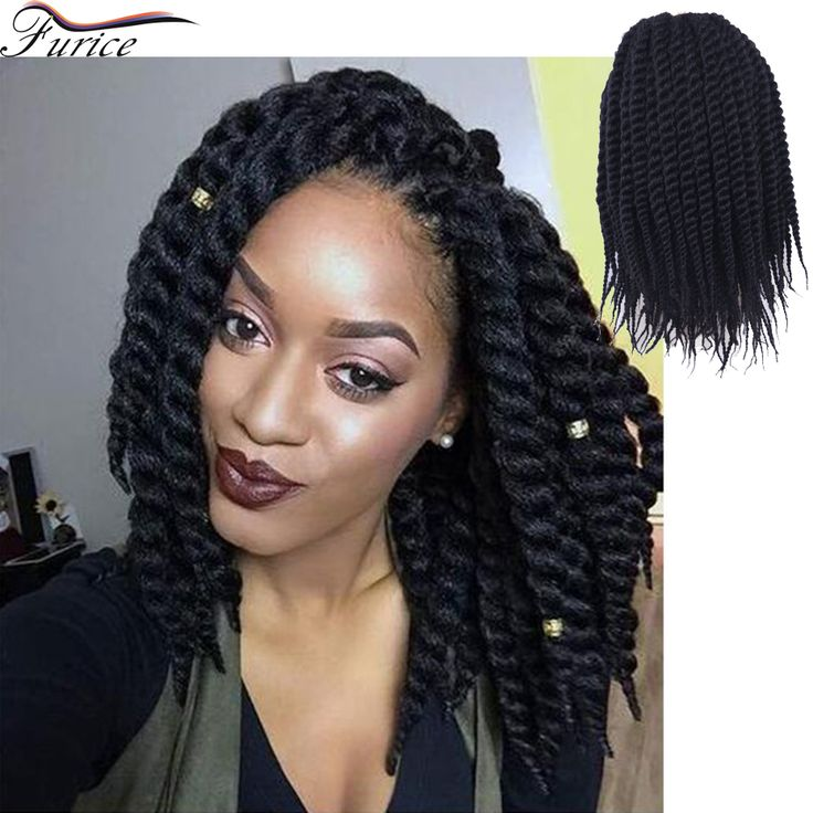 Crochet Hair Meaning : Nature Black Braiding Hair Havana Mambo Twist Hair Extension Crochet ...