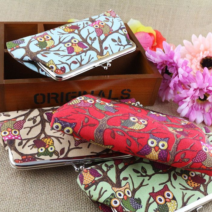Excellent Quality New Top Brand Womens Lovely Style Lady Wallets Hasp Owl Purse Clutch Bags Fastshipping #Affiliate