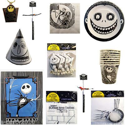 the nightmare before christmas birthday party supplies - nightmare before christmas baby shower decorations