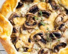 Tarte feuilletée ricotta et champignons : http://www.fourchette-et-bikini.fr/recettes/recettes-minceur/tarte-feuilletee-ricotta-et-champignons.html