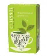 Per il piacere di una bevanda senza teina e per fare il piano di antiossidanti, tè verde di qualità superiore Chun Mee (deteinato in Inghilterra con procedimento meccanico senza utilizzo di solventi chimici), con filtri in cotone non sbiancato, non contiene punti metallici  http://www.macrolibrarsi.it/prodotti/__clipper-decaffeinated-green-tea-te-verde-deteinato-50-g.php?pn=3148