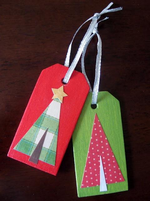 gift tag christmas ornament tutorial...