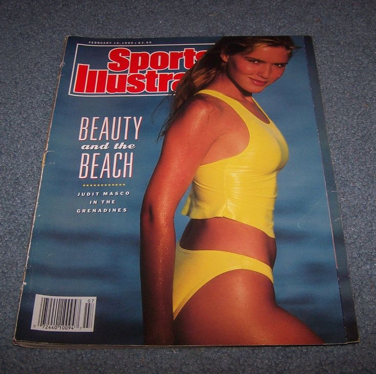 Sports Illustrated - February 12, 1990, Back Issue Beauty and the Beach