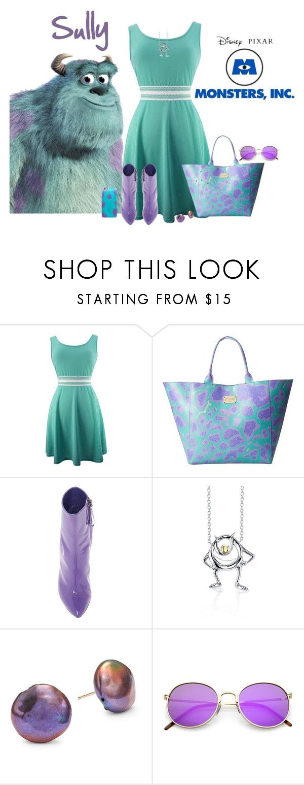 """Sully Costume"" by seafreak83 on Polyvore featuring INC International Concepts, Just Cavalli, E L L E R Y, Belk Silverworks and Alanna Bess"