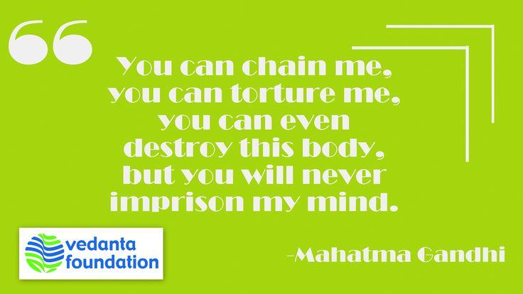 Never limit your imagination. #QuoteOfTheDay #MahatmaGandhi #Imagination