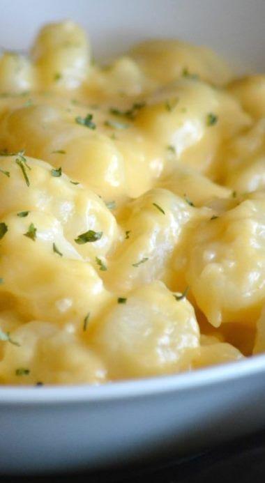 3 Cheese Gnocchi Mac & Cheese