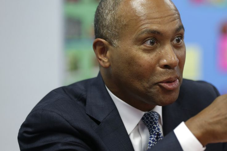 Gov. Deval Patrick slammed his party and President Obama for losses in this month's midterm elections.