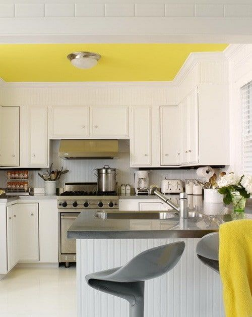 50 Amazing Painted Ceiling Designs & Ideas | Kitchen ...
