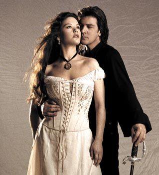 The Legend of Zorro   (Catherine Zeta Jones & Antonio Bandaras)