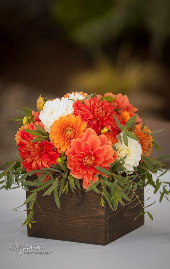 Best ideas about dahlia wedding centerpieces on