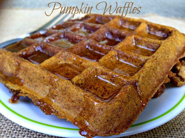 All in All: Pumpkin Spice Waffles (Vegan, Gluten-Free)