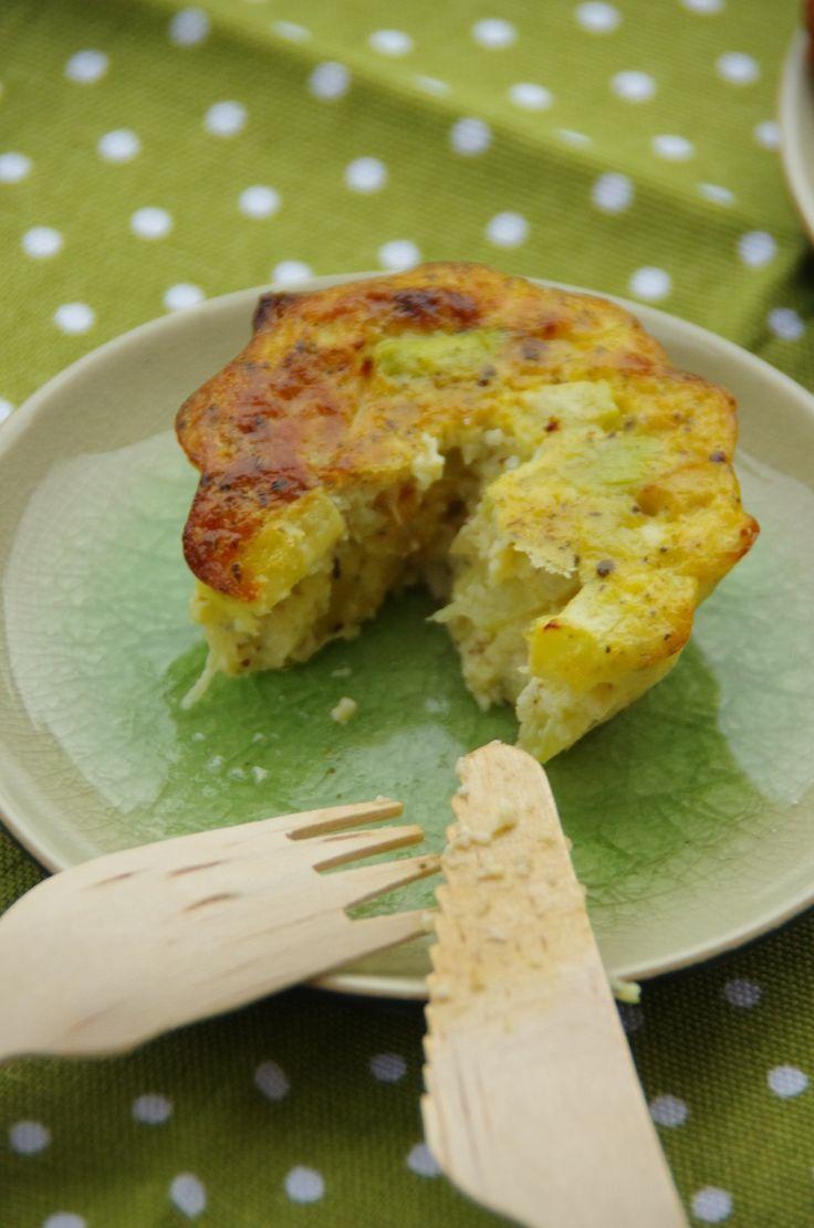 Petits flans de courgettes - Le blog de novice en cuisine