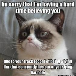 """LOL...the comment before me said """"Mr. President, Ahem!""""...I was thinking...holy crap! This cat is talking about my kids! Oops."""
