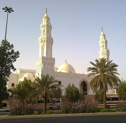 Masjid Qiblatain in Madinah, Saudi Arabia