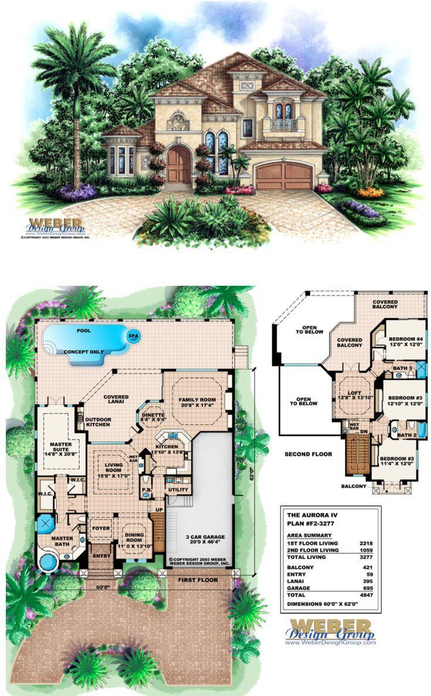 Tuscan House Plan Designs