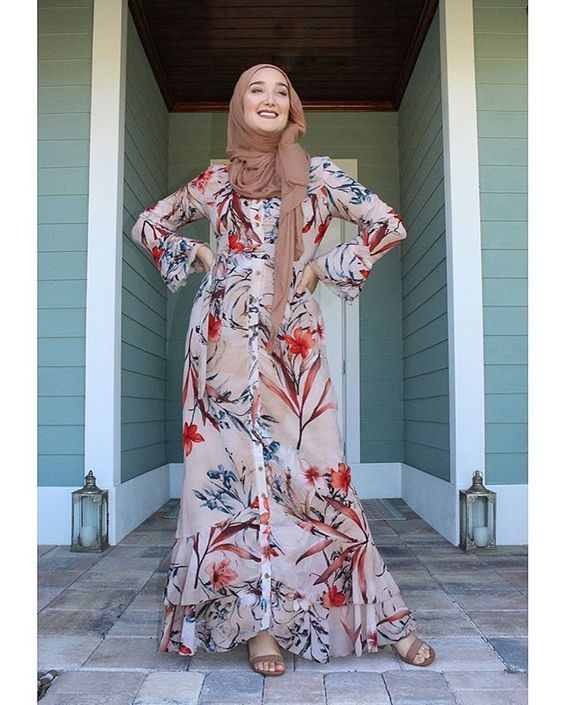 Fashion Wanita Berhijab Terbaru | Model pakaian muslim ...