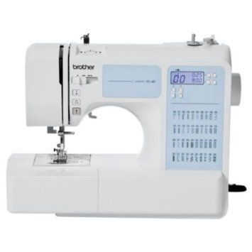 Máquinas de coser electrónicas: Brother Fs 40 y Singer 7463 Confidence