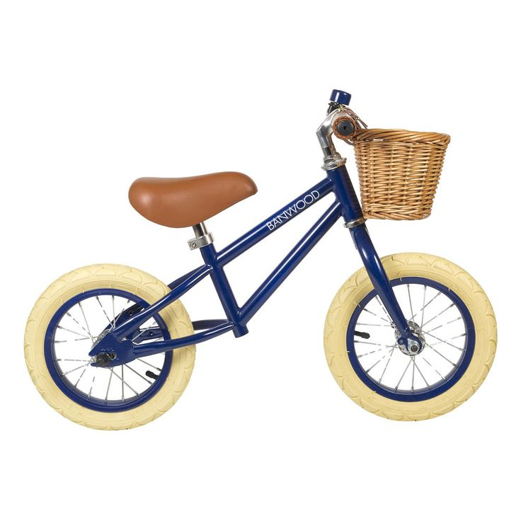 "Banwood Go First Push Bike 12"" Blue"