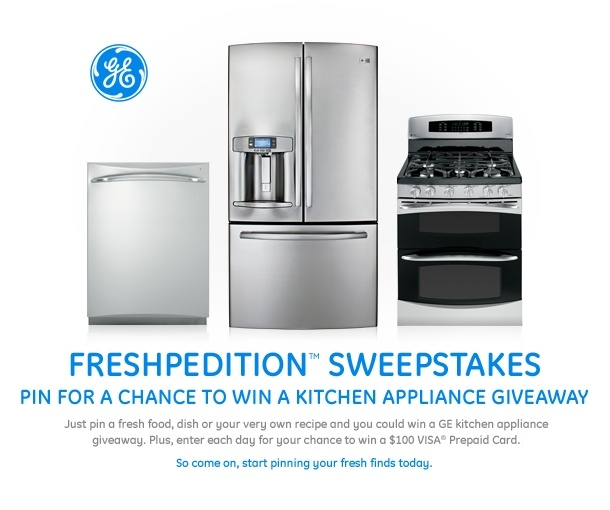Pin for a chance to win the GE Freshpedition Sweepstakes #GEfresh IN