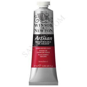 Winsor & Newton Artisan Su ile Karışabilen Yağlı Boya 104 Cadmium Red Dark