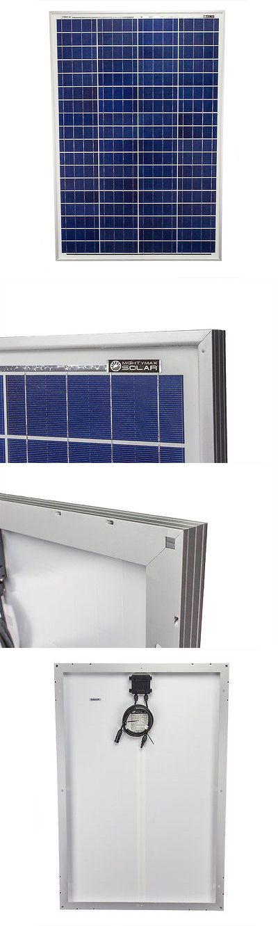 Solar Panels 41981: Mighty Max 100 Watts 100W Solar Panel 12V Poly Off Grid Battery Charger For Rv -> BUY IT NOW ONLY: $94.95 on eBay!