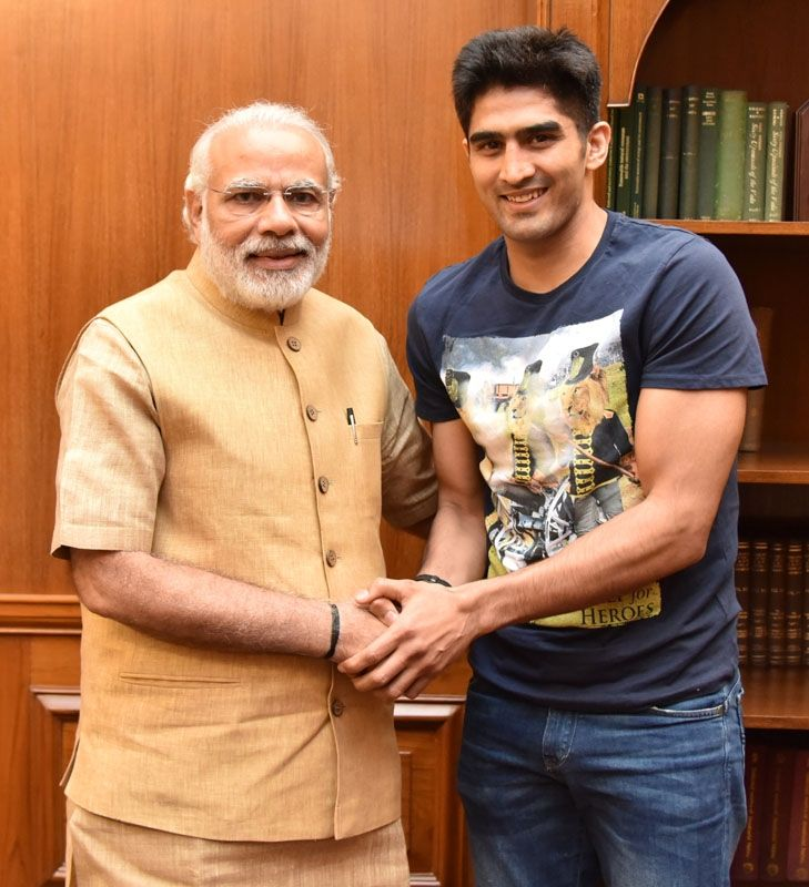 The First Mail | Vijender Singh Calling On PM Modi