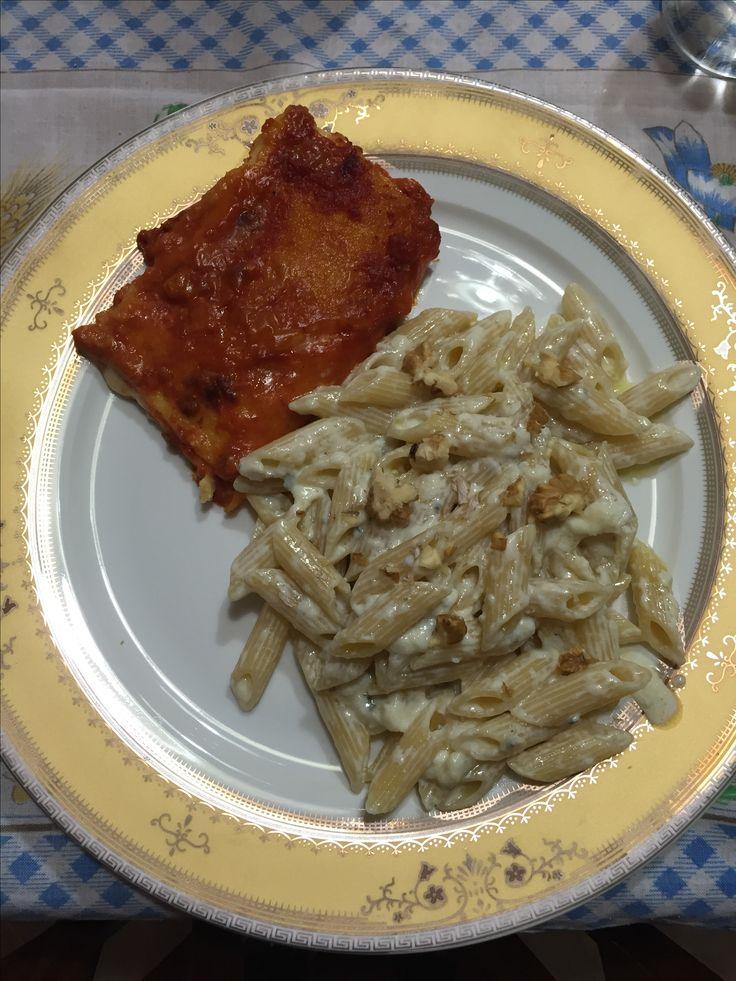 Pasta fritta ed ai 4 Formaggi: Due primi come dire ? Dietetici sicuramente !