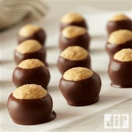 Peanut Butter Buckeyes they r delicious really love um!