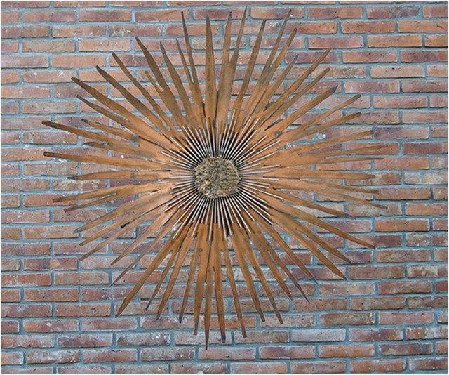 41 Amazing Ideas Outdoor Wall Decor That Will Amaze You Homenthusiastic Garden Wall Decor Outdoor Wall Decor Outdoor Walls