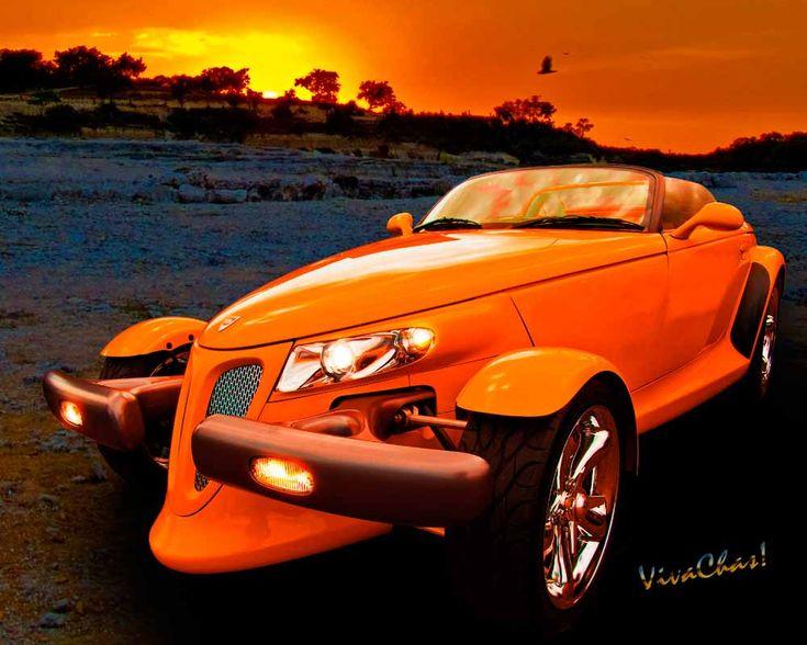 Classic Car Sunset