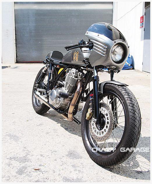 30 best yamaha sr xt 500 images on pinterest custom for Garage yamaha scooter