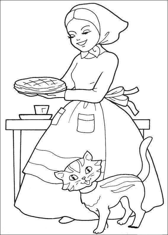 Caperucita Roja 1 Dibujos Faciles Para Dibujar Para Ninos Colorear Ausmalbilder Ausmalen Ausmalbilder Kinder