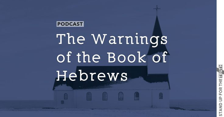 The Warnings of the Book of Hebrews |  We must pay much closer attention to what we have heard. Pastor Mike Abendroth is todays guest.  Daily podcast relevant articles on issues pertaining to Christians and more can be found on Stand Up For The Truth.