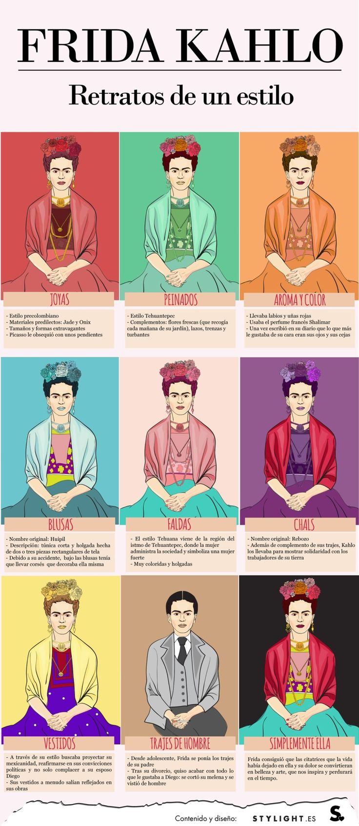 Frida's style http://fridaencoyoacan.tumblr.com/post/103499871924