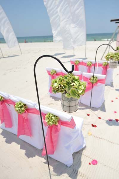 Big Day Weddings Gulf Shores Beach Shepherds Hook Decorations