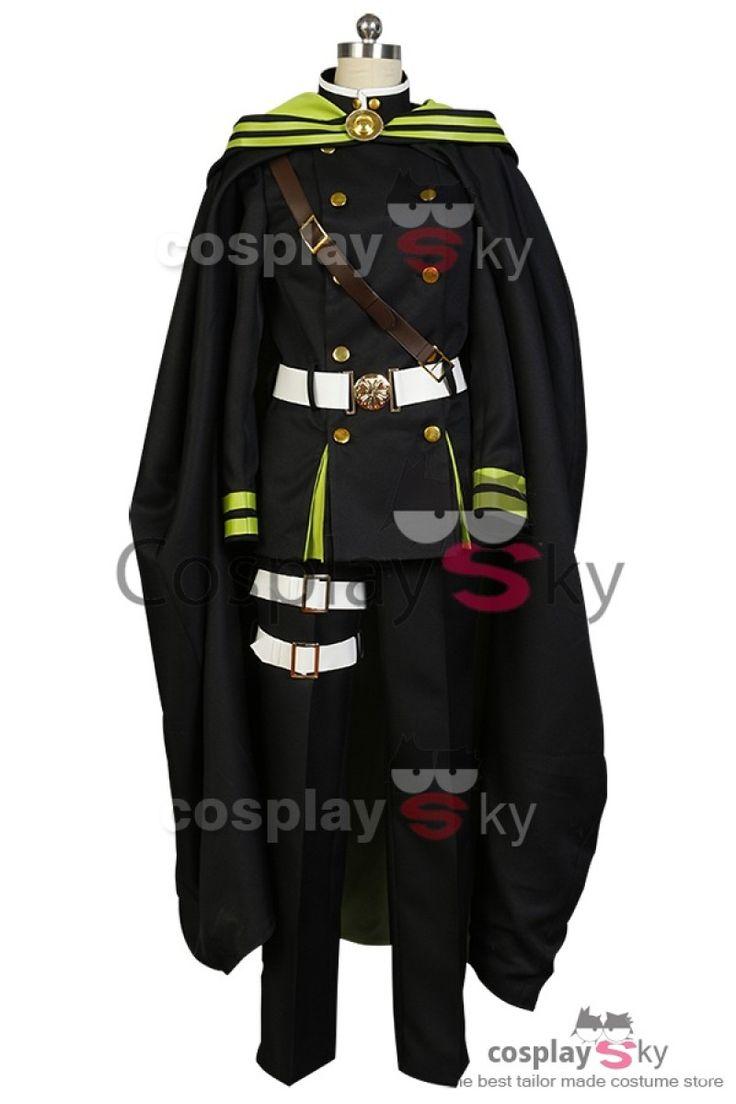 Seraph of the End Yoichi Saotome Uniform Cosplay Costume-6