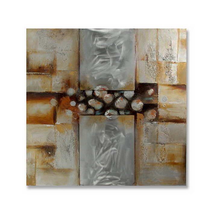 Obraz olejny na aluminium ArteHome Pearl | sklep PrezentBox - akcesoria, zegary ścienne, prezenty
