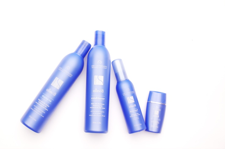 De Lorenzo Instant Allevi8 Series for frizzy hair