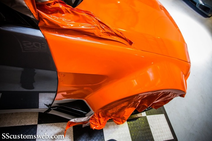 3m 1080 Matte Orange Wrap Www Facebook Com 3mwrapsuk Car