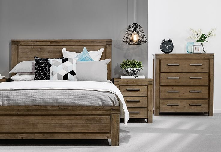 Greyson 4 Piece Tall Chest King Bedroom Suite Super A