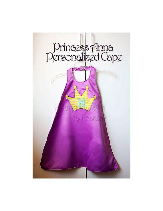 Custom Anna Frozen Cape dress up cape toys by StitchesByRachelle, $20.00