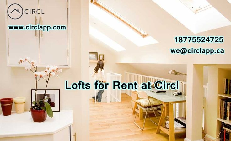 #Lofts for #Rent at #CIRCL we have a few ideas that we have noted for future reference.  Please Visit: http://circlapp.com/
